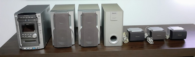 Home/Dvd stereo system SA-DK20 Panasonic