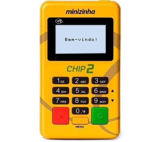 Maquina de Cartão Minizinha Chip