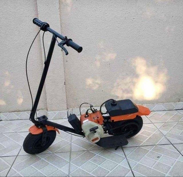 Walk machine com motor de roçadeira parcelo em até 18x - Foto 2