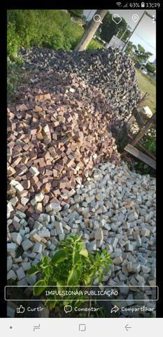Pedra Portuguesa Calceteiro Colocador Calçada Parede e Vendas. * WhatsApp - Foto 6
