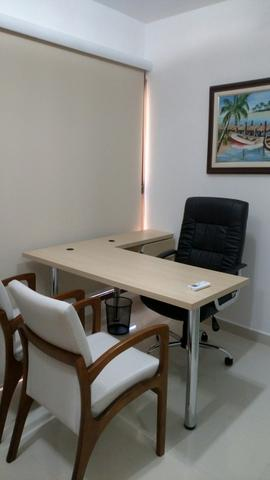 Sala mobiliada - Sublocação - Rink Alto Padrão - Foto 2