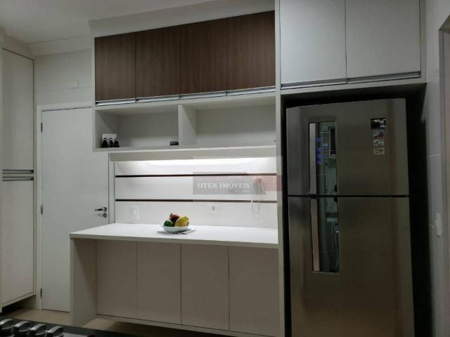 Apartamento com 3 dormitórios à venda, 156 m² por r$ 700.000 - jardim das indústrias - são - Foto 9