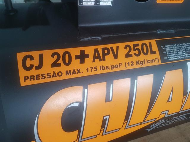Compressor Chiaperni 20 Pés - Foto 3