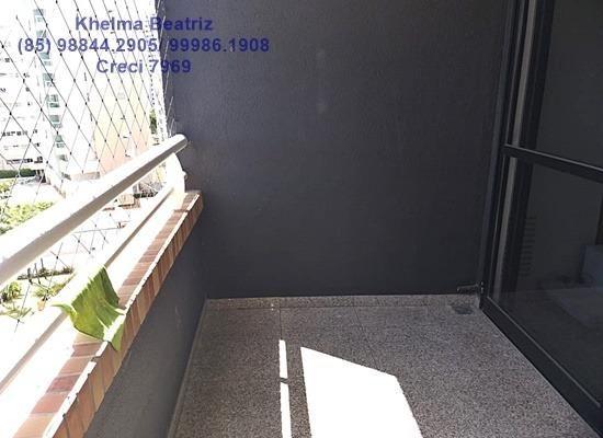 Apartamento. 72m², 2 suítes, closet, 2 vagas - Cocó - Foto 5