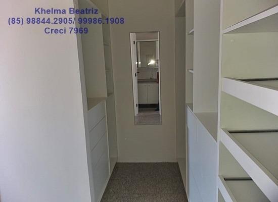 Apartamento. 72m², 2 suítes, closet, 2 vagas - Cocó - Foto 8