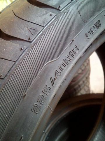 Kit 2 pneus 18 ref 225/40 r18 novos - Foto 3