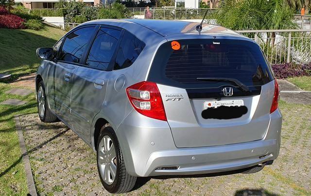 Honda Fit EX 2013 Flex Cor:Prata 40.000Km
