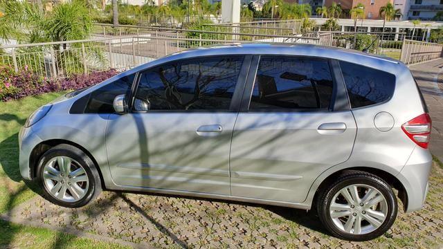 Honda Fit EX 2013 Flex Cor:Prata 40.000Km - Foto 6