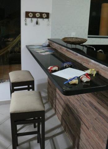 Novembro, feriado em casa de praia, com 5 quartos, piscina e churrasqueira - Foto 13