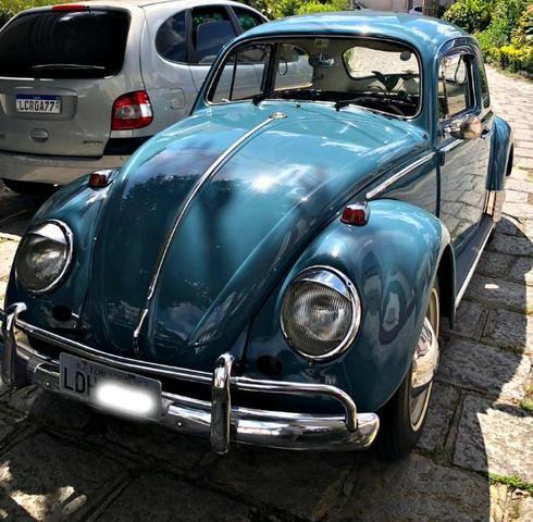 Vw - Volkswagen Fusca - todo original
