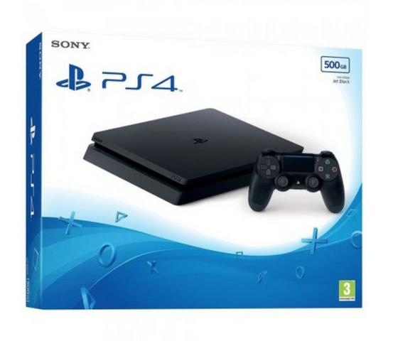 Console Sony Playstation 4 Ps4 Slim 500gb Bivolt Mais jogo mais brindes