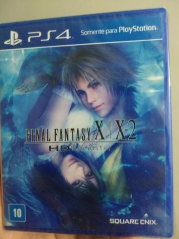 Vendo Final fantasy X / X2 ps4 lacrado