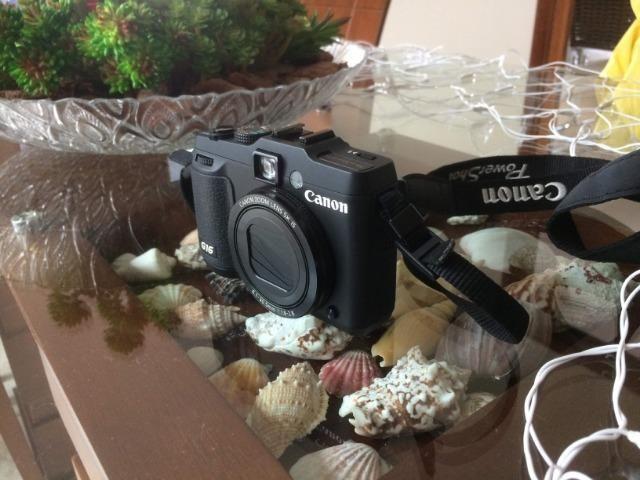 Câmera digital Canon G16 - Foto 2