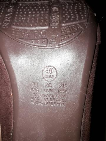 30902f6fba19c Bota Feminina Beira Rio Tam 40 - Roupas e calçados - Alphaville I ...