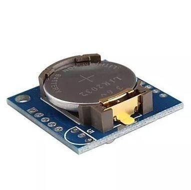 COD-AM 101 Módulo Rtc Clock Tempo Real Ds1307 I2c Data Hora Arduino Automação Robotica