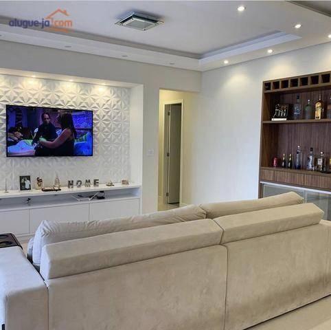 Apartamento com 3 dormitórios à venda, 100 m² por r$ 625.000 - jardim das indústrias - são