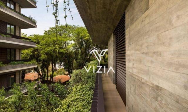 Apartamento com 4 dormitórios à venda, 459 m² por R$ 8.421.307,00 - Cabral - Curitiba/PR - Foto 2