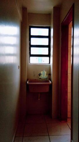 Apartamento com 2 dormitórios para alugar, 96 m² por R$ 1.500/mês no Centro em Foz do Igua - Foto 17