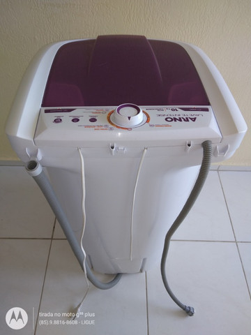 Tanquinho da Arno Máquina de Lavar Roupas Lavadora Arno Lavete 10Kg Semi-Automática - Foto 6