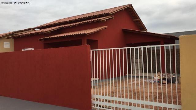Casa para Venda em Várzea Grande, Paiaguas, 2 dormitórios, 1 banheiro, 2 vagas - Foto 3