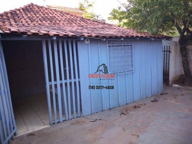 Casa com 3 dormitórios para alugar, 48 m² por R$ 450,00/mês - Vila Brasil - Presidente Pru - Foto 6