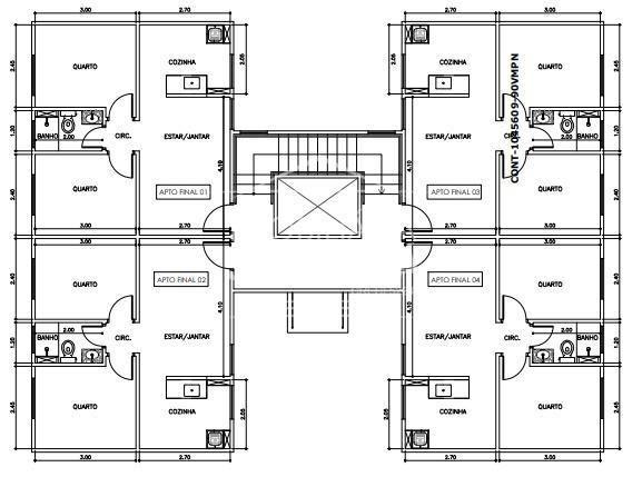 Apartamento à venda, 2 quartos, 1 vaga, barra do rio cerro - jaraguá do sul/sc - Foto 2