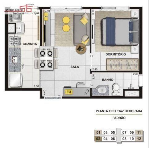 Apartamento  residencial à venda, Várzea da Barra Funda, São Paulo. - Foto 4
