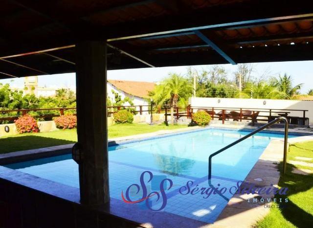 Casa para venda no Porto das Dunas com 5 suítes, piscina e deck com churrasqueira - Foto 2
