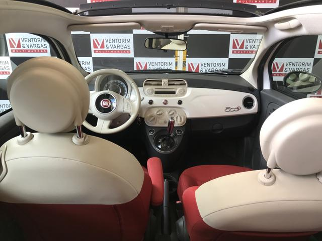 Fiat 500 Cabrio 1.4 2014 Conversível - Foto 9