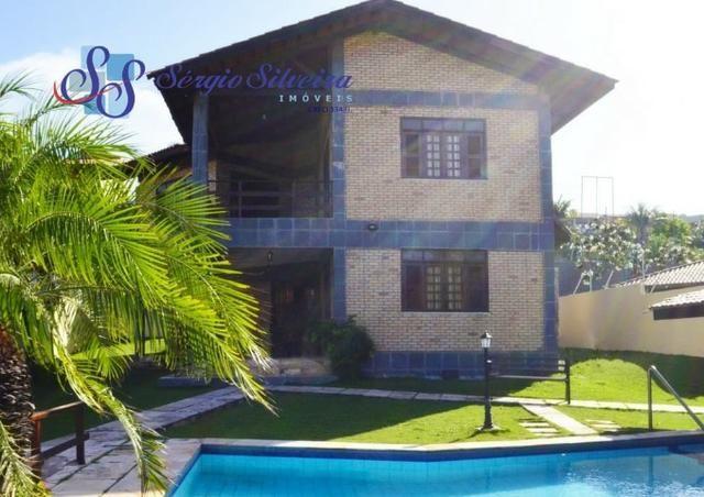 Casa para venda no Porto das Dunas com 5 suítes, piscina e deck com churrasqueira - Foto 17