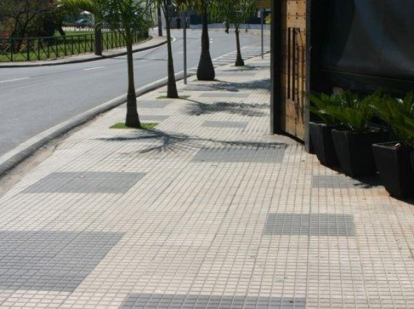 Piso tátil, Alerta, direcional, ladrilho hidráulico, anti-derrapante, piso concreto - Foto 5