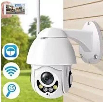 Câmera Ip Externa Wifi Dome Infra Prova D'água Icsee Hd 360º - Foto 2