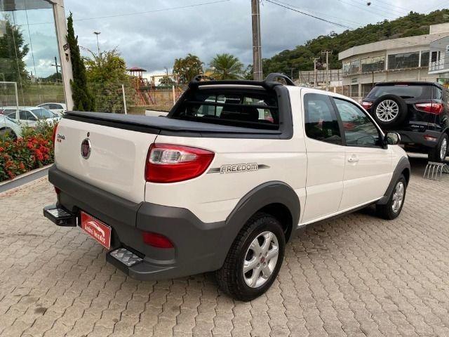 Fiat Strada 1.4 Freedom CD Três Portas (Flex) Completa Zero Km 2020 - Foto 10