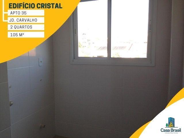 Apartamento com 2 quartos e 2 vagas para alugar em Ponta Grossa - Jardim Carvalho - Foto 11