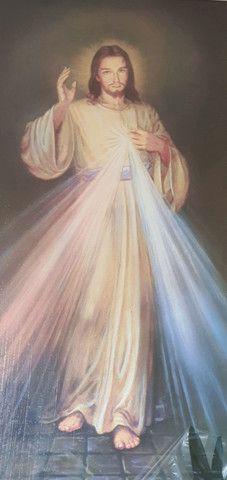 Peça única Jesus quadro  - Foto 2