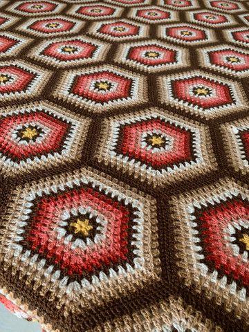 Colcha crochê | Trabalho manual - Foto 4