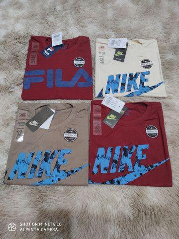 Camiseta masculina várias estampas