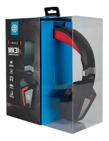 Headset Gamer Hoopson Mage Mk31r Usb 7.1 Pc - Loja Natan Abreu - Foto 6