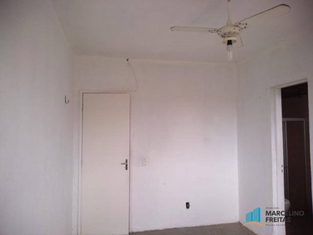 Apartamento com 3 dormitórios para alugar, 112 m² por R$ 999,00/mês - São Gerardo - Fortal - Foto 18