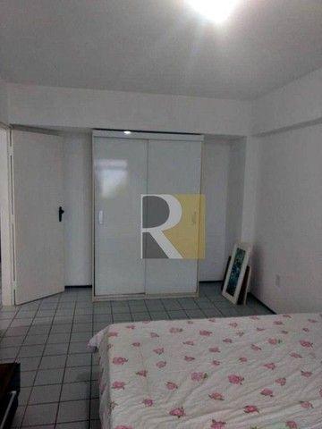 Apartamento Mobiliado com 1 dormitório para alugar, 58 m² - Manaíra - João Pessoa/PB - Foto 9