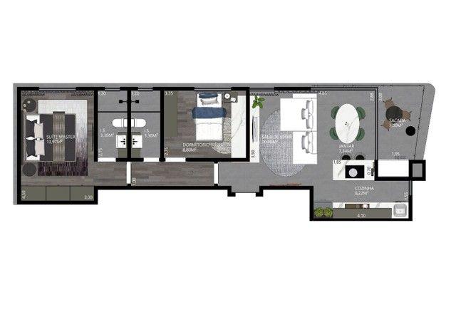 OPORTUNIDADE Apartamento a venda Toledo - Foto 3