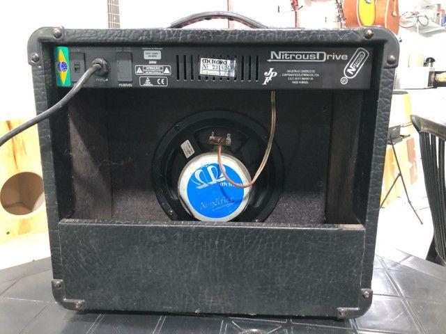 Amplificador para Estudar guitarra, Meteoro Nitrous Drive  - Foto 4