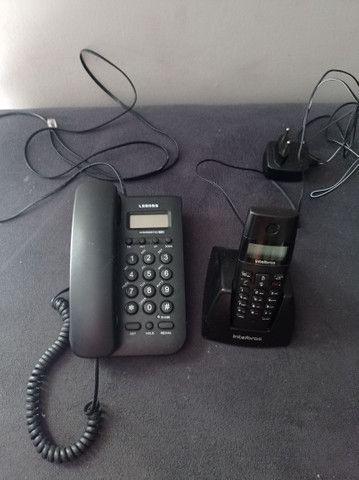 Vendo 3 telefones com identificador de chamadas - Foto 2