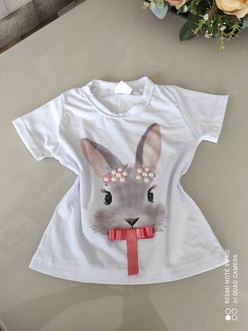 T-shirt infantil - Foto 4