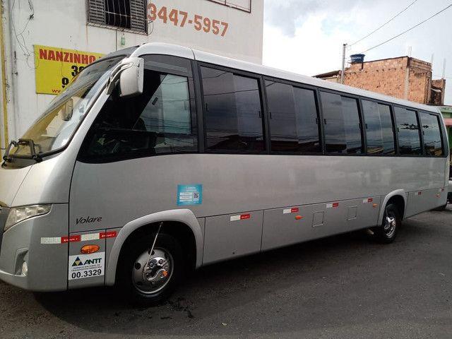 Micro-ônibus W9 Marcopolo/Volare Executivo 32 Lugares - Foto 9