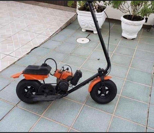 Walk machine com motor de roçadeira parcelo em até 18x
