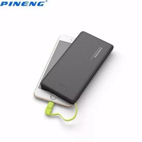 Pineng Original Carregador Portátil Power Bank Slim 10000 Com Selo - Mega Infotech - Foto 2