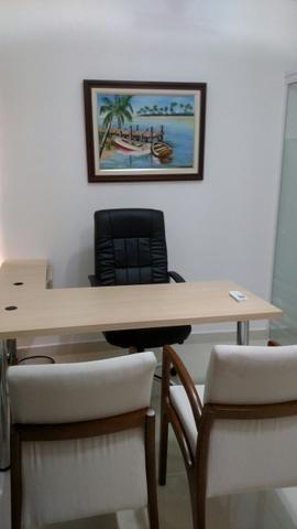 Sala mobiliada - Sublocação - Rink Alto Padrão - Foto 3
