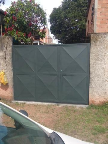 Confecção de portão de ferro