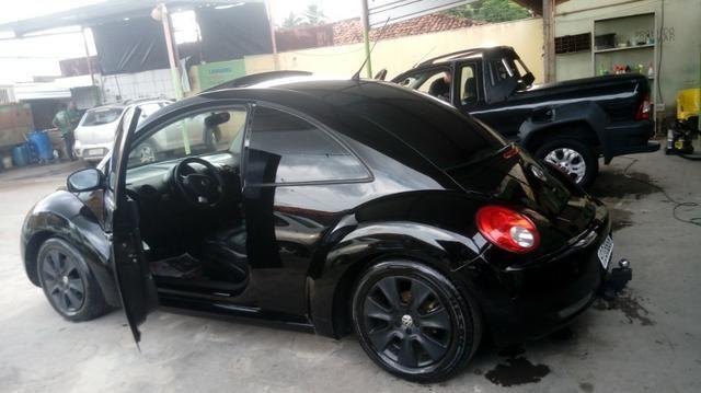 Vw new beetle 2.0 gasolina completo - Foto 2